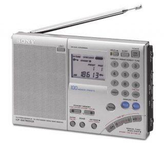 Sony AM/FM FM Stereo Multi Band World Band Receiver Radio   E257493