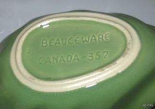 Beauce Pottery Beauceware Cornucopia Shell Planter Bowl 1950s