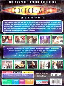 Season 2 [2006] David Tennant, BBC Sci fi 13 Episodes 4 Disc DVD BOX