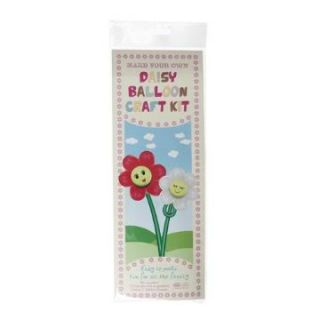 MAKE YOUR OWN DAISY FLOWER BALLOON ART CRAFT KIT PARTY GAME BAGS GIFT