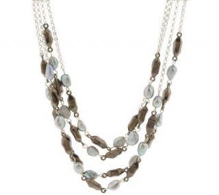 RLM Studio Sterling & Cultured Pearl Shimmering Lights Necklace