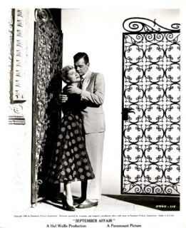 Joan Fontaine Joseph Cotten September Affair 1950