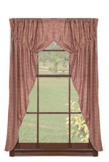 Window Treatment for Sale Checkerberry Prairie Curtain