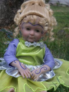 Reborn Baby Girl Cricket Fairy Doll Sculpt by Donna RuBert