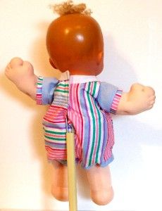 Nursery Doll Vinyl & Cloth Doll Collectible Doll 1989 Crier inside