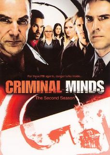 Criminal Minds The Second Season DVD 2007 6 Disc Set