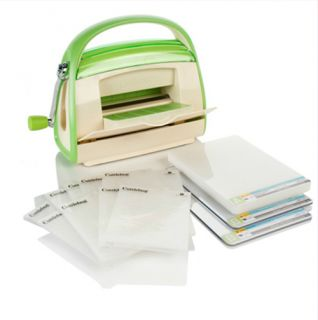 Cuttlebug Die Cutting and Embossing Machine with 9 Embossing Folders $