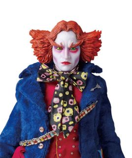 Medicom Alice Wonderland Mad Hatter Blue Jacket Depp
