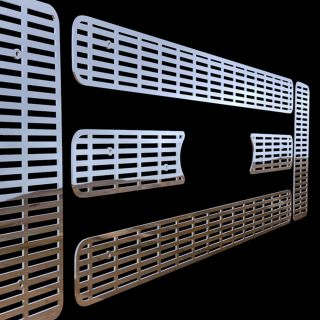 grille insert stainless steel trim cover custom grille all of our