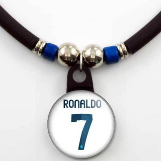 Cristiano Ronaldo #7 Real Madrid 2012 13 Home Jersey Necklace