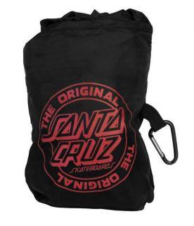 Santa Cruz CLASSIC DOT Nylon Messenger Bag BLACK