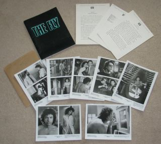 FLY (1986) Original Movie Press Kit   David Cronenberg Jeff Goldblum