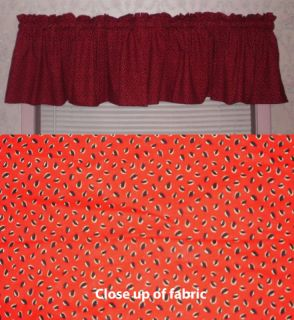 New Watermelon Seeds Kitchen Country Valances Curtains