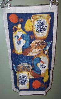 Linen Country Collection Crock Kitchen Towel Bob Goryl