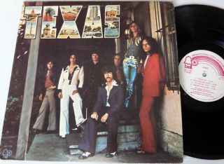 Texas Self Titled LP 1973 Countryrock White Label Promo