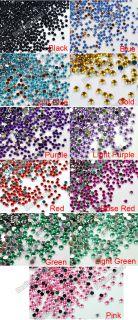 20000 pcs Clear Crystal Glitter Nail Art Rhinestone Decoration 2mm