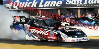 Courtney Force 2012 Traxxas All New Tooling NHRA Ford Mustang Funny
