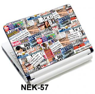 Paper Skin Cover For 13 3 14 15 4 15 6 HP Dell Sony Acer ASUS Laptop