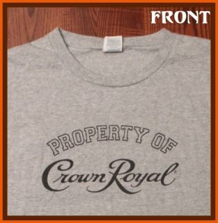 Sale Tee Crown Royal Canadian Whiskey Liquor T Shirt XL