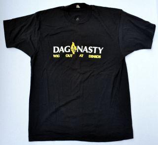 Vintage Dag Nasty 1987 Wig Out at Denkos Shirt Large Good Shape