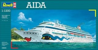 1200 Aida Plastic Model Cruise SHIP Kit Brand New in Box 05805
