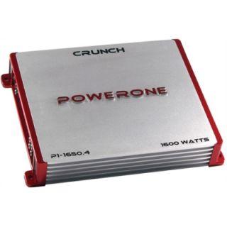 Crunch P116502 1600W 2 CH Car Audio Amplifier Amp 2 Channel P1 1650 2