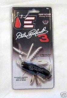 Dale Earnhardt 3 NASCAR Racing Frost Cutlery Knife New