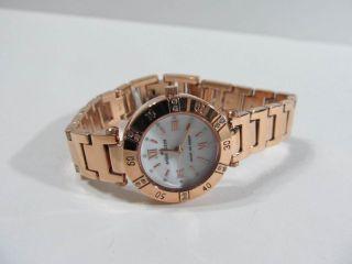 Anne Klein Rose Gold Crystal Ladies Watch 10 9466MPRG