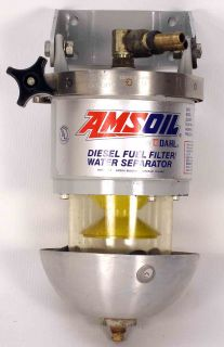 AMS DAHL 100 DIESEL FUEL FILTER AND EXTRA FILTER
