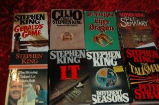 King Novels in 25 Books 22 HC 3 PB Misery It Carrie Cujo