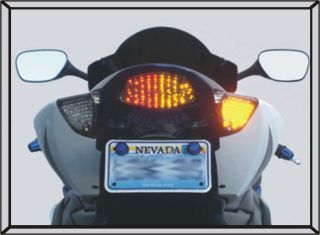 GSXR1000 Integrated LED Tail Light Turn Signals 07 08