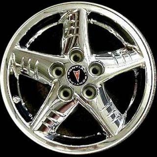 16 Chrome Clad Alloy Wheel Rim 2002 2003 2004 2005 Pontiac Grand Am