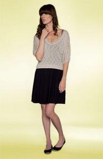 Splendid Slub Knit Top & Short Jersey Tank Dress