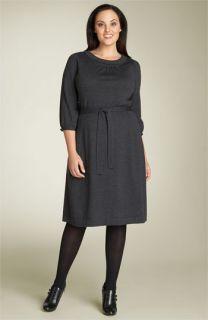 Semantiks Merino Wool Sweater Dress (Plus)