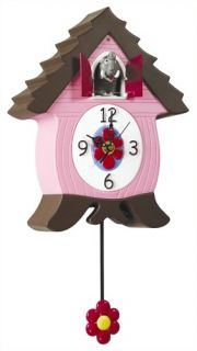 Cuckoo Clock for Kids Wall Clock Elephant Coo Coo Clocks