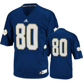Notre Dame Fighting Irish Football Jersey Adidas Navy 80 Replica