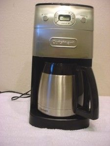 Cuisinart DGB 650 10 Cup Stainless Steel Grind Brew Coffee Maker