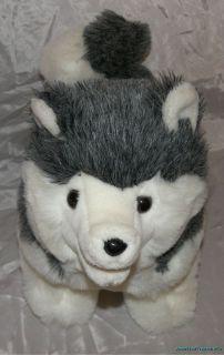 Adorable Rare Vintage 1977 Dakin Plush Siberian Husky Puppy Dog