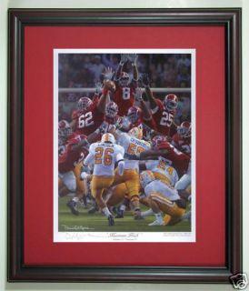 Alabama Football Daniel Moore Maximum Block Print