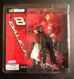 DALE EARNHARDT JR NASCAR CAR 8 SERIES 3 MCFARLANE MADE 7 ACTION FIGURE