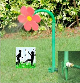 Dancing Crazy Daisy sprinkler flower for your garden and kids NEW