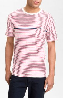 rag & bone Stripe Pocket T Shirt
