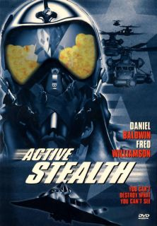Active Stealth DVD 2002 Daniel Baldwin Fred Williamson 024543055679