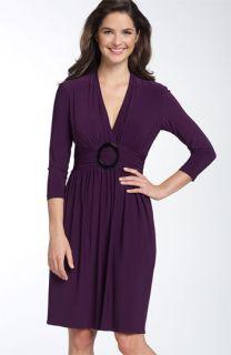 Maggy London Print Jersey Dress (Petite)