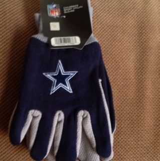 DALLAS COWBOYS GLOVES YOUTH SIZE BRAND NEW FAST SHIPPING TONY ROMO
