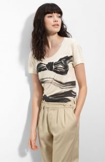 See by Chloé Bow Print Washed Jersey Tee