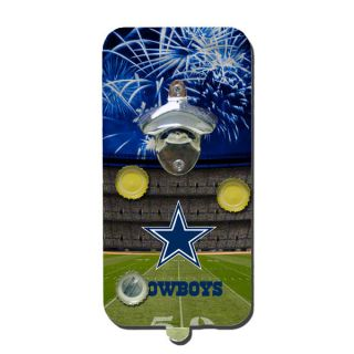 Dallas Cowboys 5x10 Magnetic Clink Drink Bottle Opener