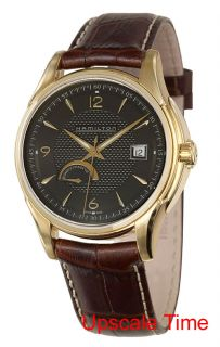 Hamilton 18K Gold Jazz Master Automatic Mens Watch H32539595