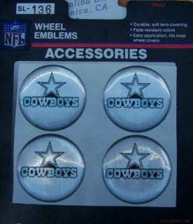 Dallas Cowboys Car Truck Golf Cart Wheel Rims Emblems Chevy Ford Dodge