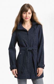 Calvin Klein Zip Front Hooded Coat